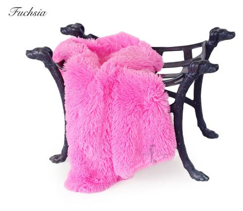 Luxury Shag Blankets - Fuchsia