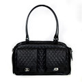 Petote Marlee - Black Quilted Carrier