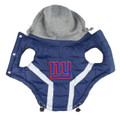 Hip Doggie New York Giants Dog Puffer Vest
