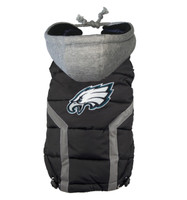 Hip Doggie Philadelphia Eagles Dog Puffer Vest