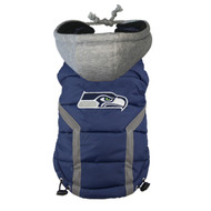NFL Seattle Seahawks Dog Puffer Vest