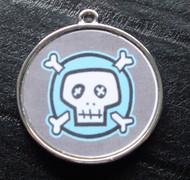 Boy Skulls no.6 Pet ID Tag