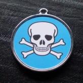 Boy Skulls no.8 Pet ID Tag