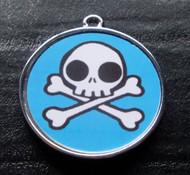 Boy Skulls no.10 Pet ID Tag