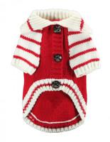 HD Crown Cardigan - Red.