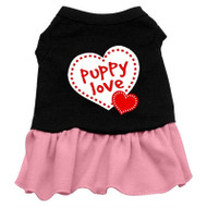 Puppy Love Screen Printed- Pink