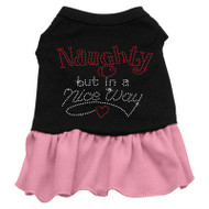 Naughty But In A Nice Way Rhinestone- pink
