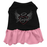 Angel Heart Rhinestone-pink