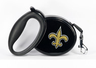 Saints NFL Retractable Pet Leash