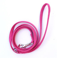 Fuschia 4ft Ultra Suede Leash