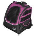Pet Edge I-GO2 Traveler Dog Roller-Backpack - Pink