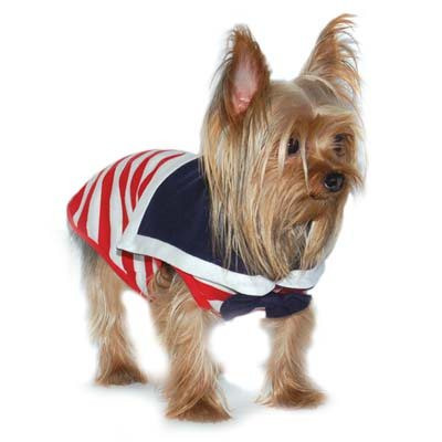 Dogo Dog Sailor Boy Red Tank - Free Shipping