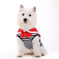 Dogo Dog Sailor Boy Navy Tank - Free Shipping