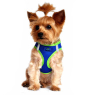 American River Dog Harness Top Stitch Collection - Colbalt Blue