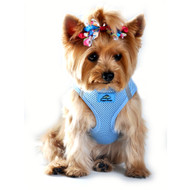 American River Ultra Choke Free Dog Harness - Light Blue