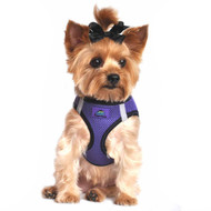 American River Dog Harness Top Stitch Collection - Ultra Violet
