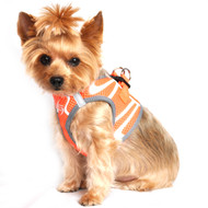 American River Neon Sport Dog Harnesses - Iridescent Orange