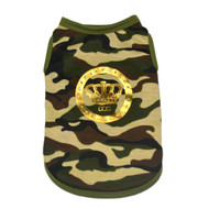 Luxe Camo Dog Tank Top - Dogs of Glamour