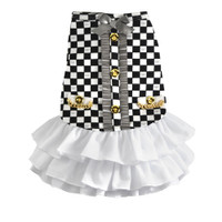 Luxe Coco Ruffle Dress - Dogs of Glamour