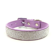 Purple VIP Bling Collar