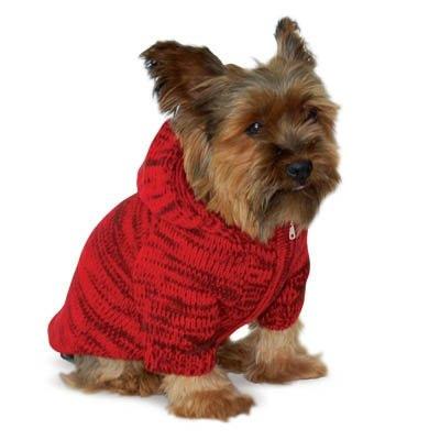 Hoodie Sweater Coat Red