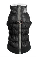 HD Crown Puffer Vest - Black