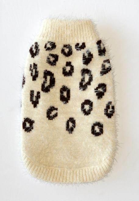 FeatherSoft Cheetah Sweater - Cream
