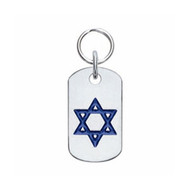 Doggie Tag with Star of David
