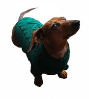 Irish Knit Hunter Green