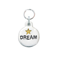 Dream Pet ID Tag with Gold Star