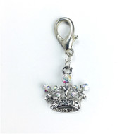 Large Crowned Rocked Charm