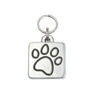 Paw Square Pet ID Tag