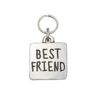 Best Friend Square Pet ID Tag