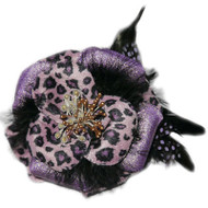 Julia Collar Flower - Purple
