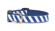 Blue White Stripe