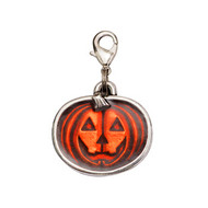 Pumpkin Trick or Treat Halloween Dog Charm