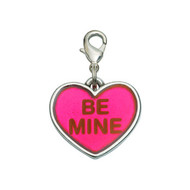 Be Mine Heart Valentine's Dog Charm