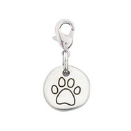Rockin Doggie Good Dog Paw Charm