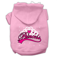 I'm a Princess Screen Print Pet Hoodies