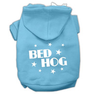 Bed Hog Screen Printed Pet Hoodies
