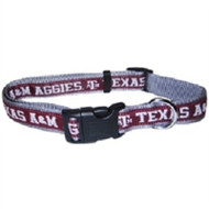 Texas A&M Aggies Dog Collars & Leashes