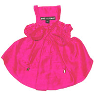 The Tiffany Hot Pink Silk Dog Dress