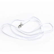 White Cotton Leash