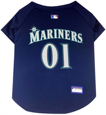 Seattle Mariners Dog Jersey
