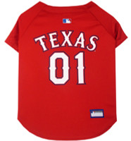 Texas Rangers Dog Jersey