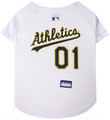 Oakland Athletics Dog Jersey - White