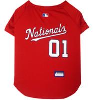Washington Nationals Dog Jersey