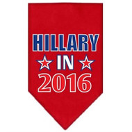 Hillary in 2016 Election Screenprint Bandanas