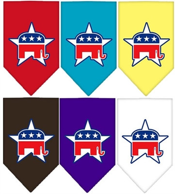 Republican Screen Print Bandana