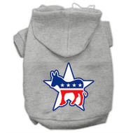 Democrat Screen Print Pet Hoodies